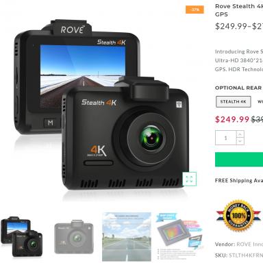 64GB Micro SD Card Memory For Road Angel Halo Go Dash Cam Full HD