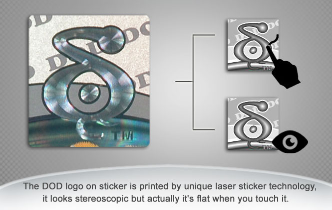 F900LS Laser Sticker 1