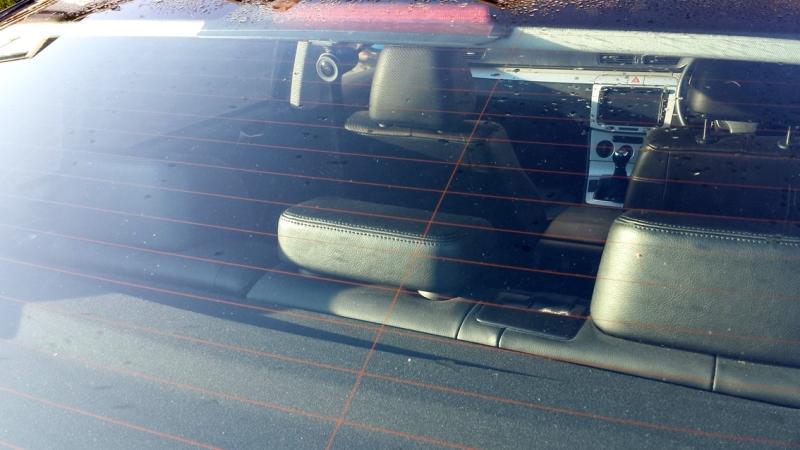 Innovv C3 in car rear 3