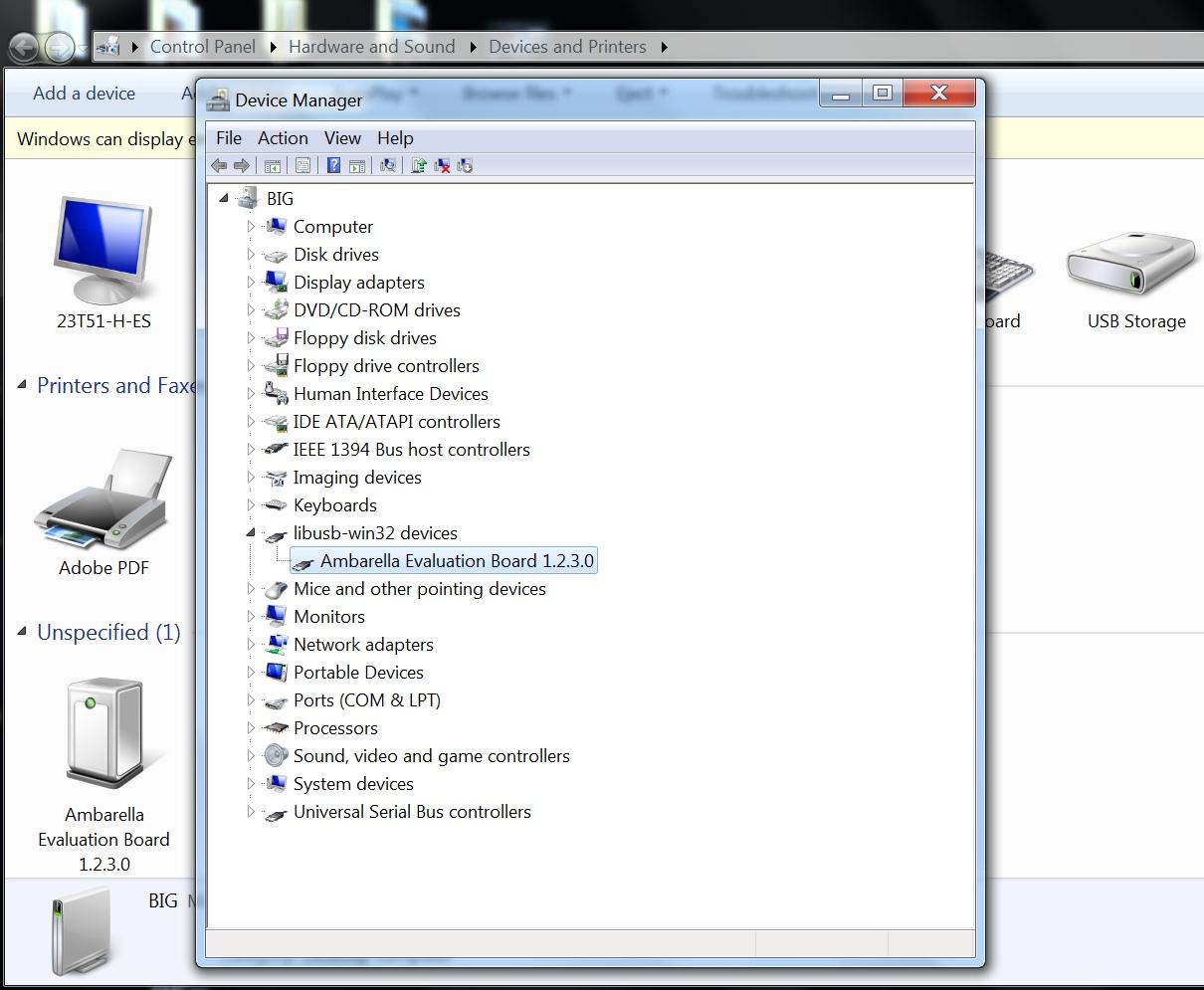 SJCam SJ5000+ driver installed
