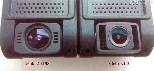 VIOFO A119S Comparison