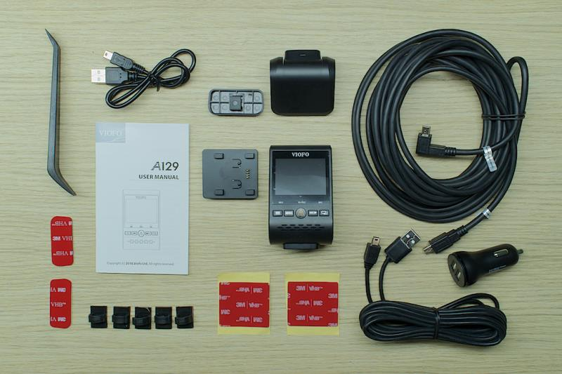VIOFO A129 Duo Accessories