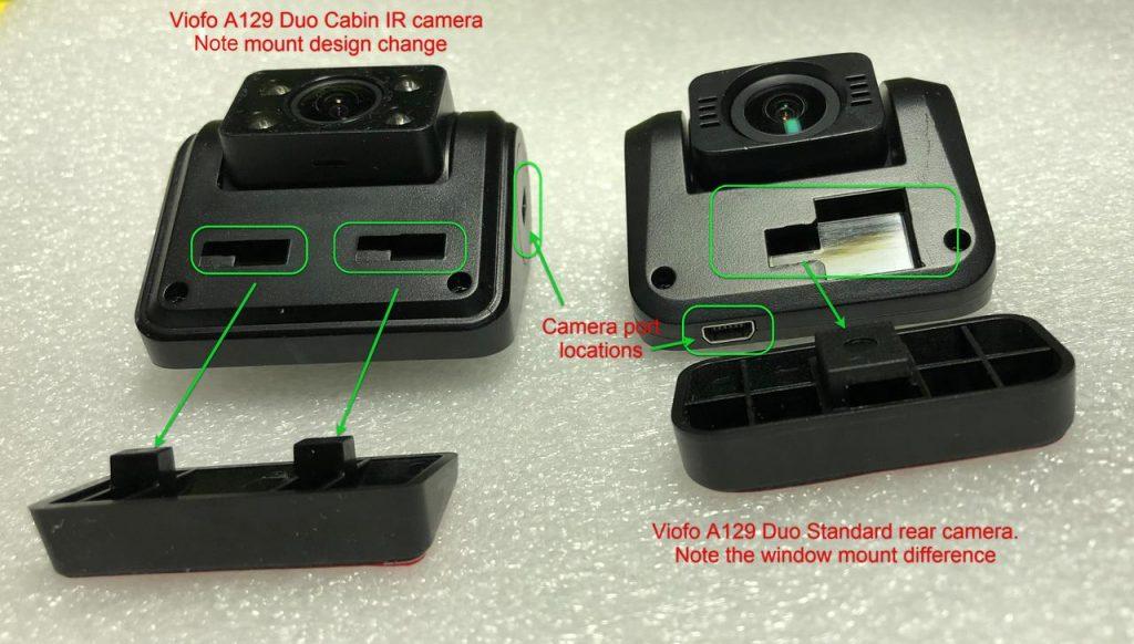 VIOFO A129 Duo IR Comparison