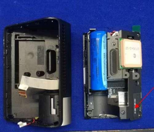 70mai A800 Battery