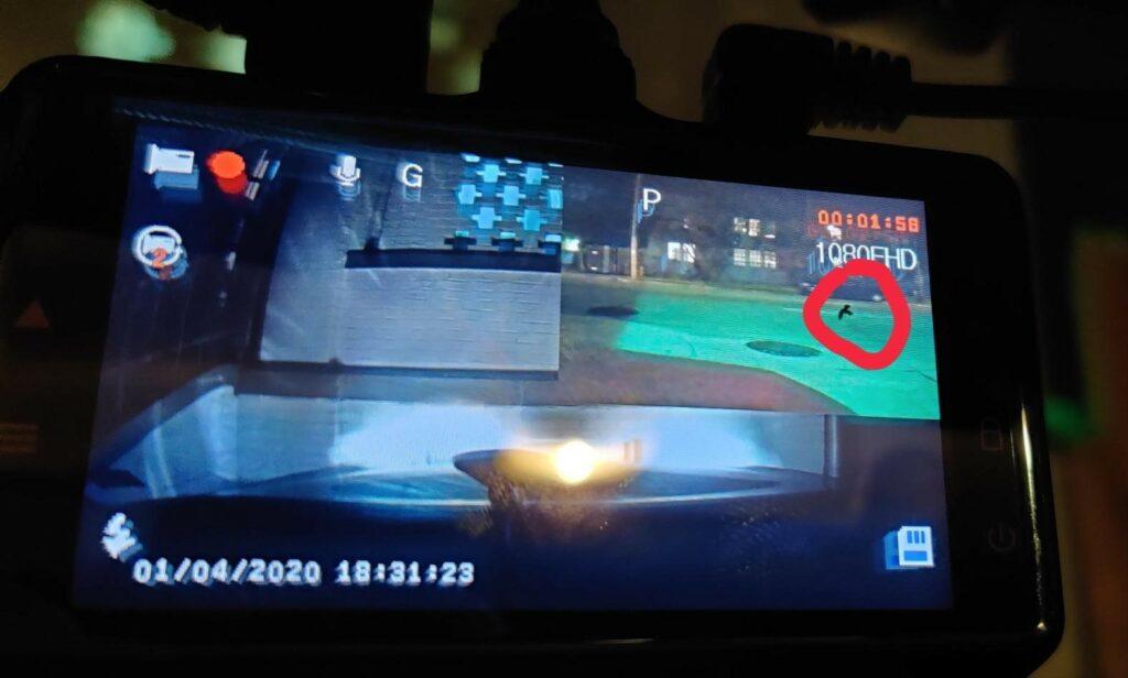 Chortau B T13 Black Spot on Screen 3